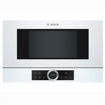 Bosch BFL634GW1 Λευκός Εντοιχιζόμενος Φούρνος Μικροκυμάτων