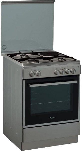 Whirpool ACMK6433/IX Inox Κουζίνα Μικτή