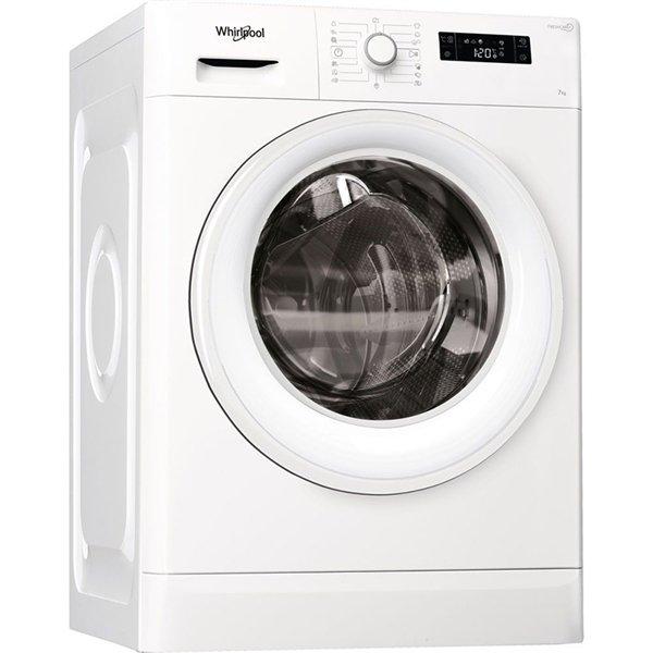 Whirpool FWF71253W EU 7Kg Πλυντήριο Ρούχων
