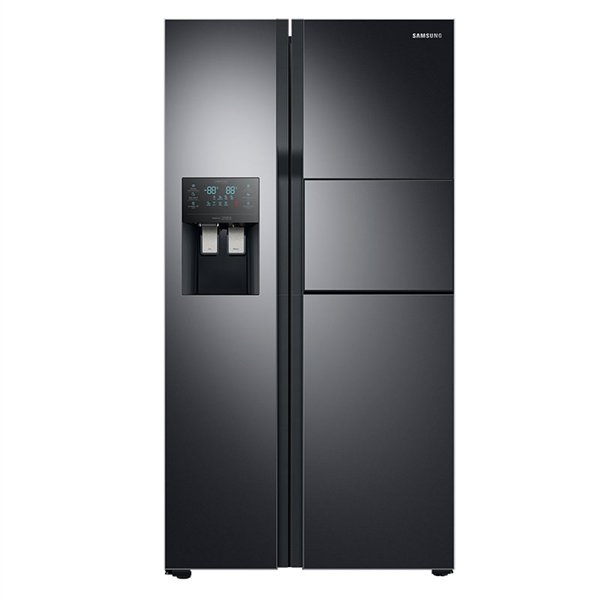 Samsung RS51K57H02C Black Ψυγείο Ντουλάπα
