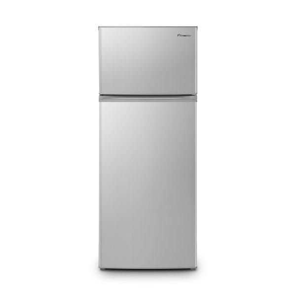Inventor INVMS207A2G Silver A++ Ψυγείο Δίπορτο