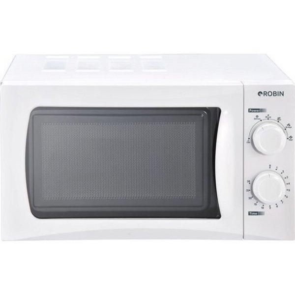 Robin MW-820W Λευκός Φούρνος Μικροκυμάτων