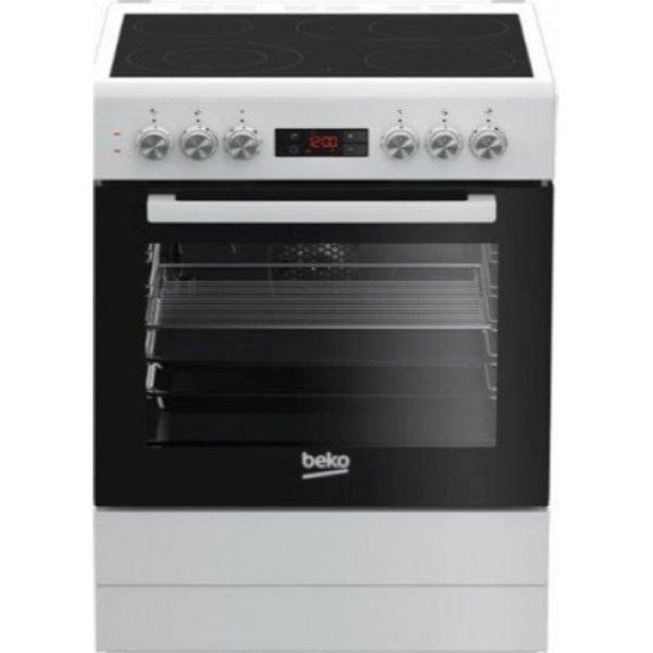 Beko FSM 67320 DWS Λευκή Κουζίνα Κεραμική