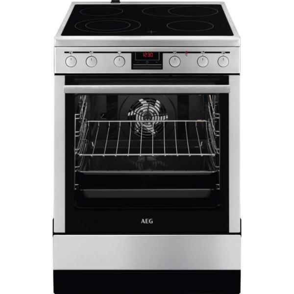 AEG 347056V-MN Inox Κουζίνα Κεραμική