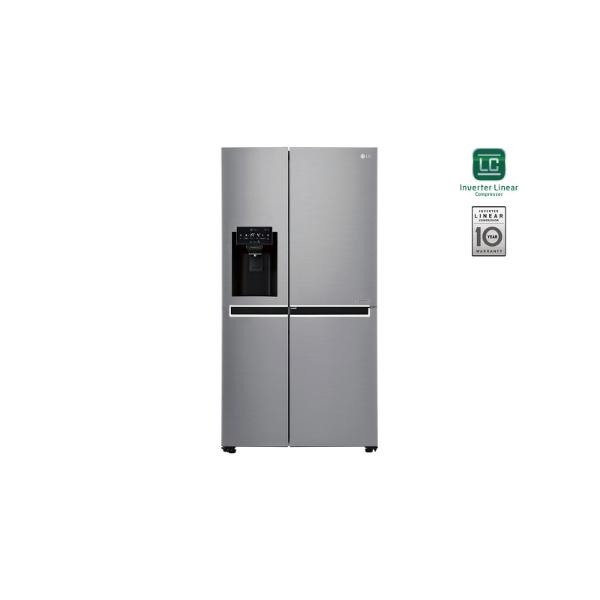 LG GSJ760PZUZ Inox Ψυγείο Ντουλάπα