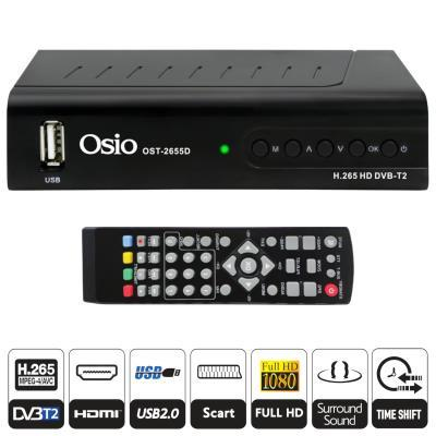 Osio OST-2655D Ψηφιακός Δέκτης