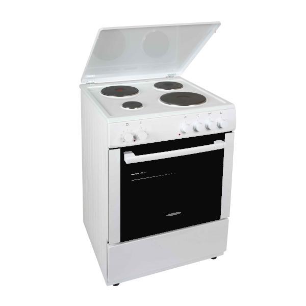 Carad EMW34201 Λευκή Κουζίνα Εμαγιέ