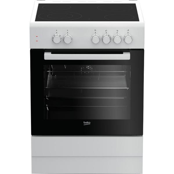 Beko FSM67010GW Λευκή Κουζίνα Κεραμική