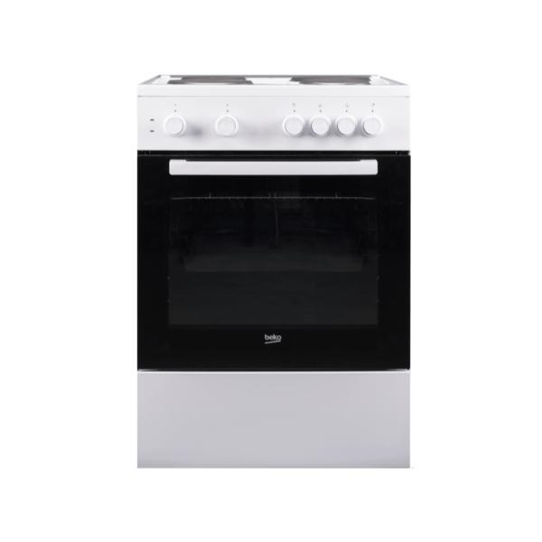 Beko FSS66003GW Λευκή Κουζίνα Εμαγιέ