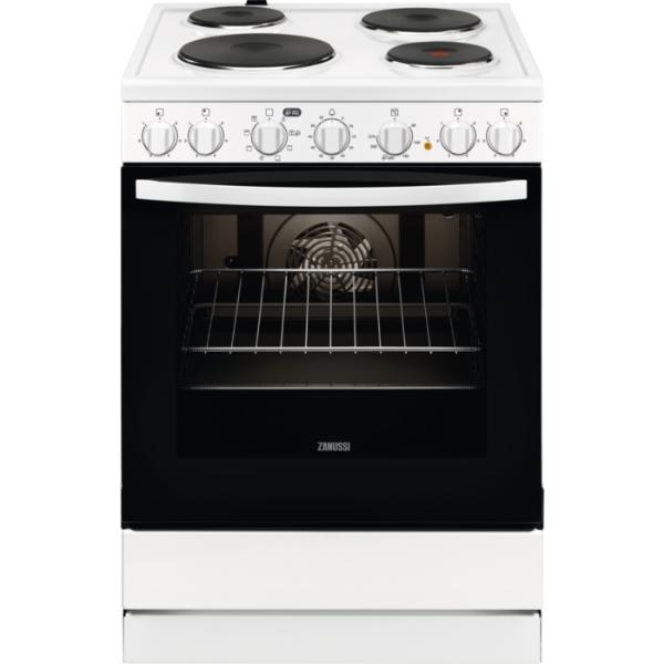 Zanussi ZCE65210WA Λευκή Κουζίνα Εμαγιέ