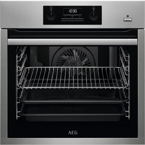 AEG BES351110M Aqua Inox Φούρνος Εντοιχιζόμενος