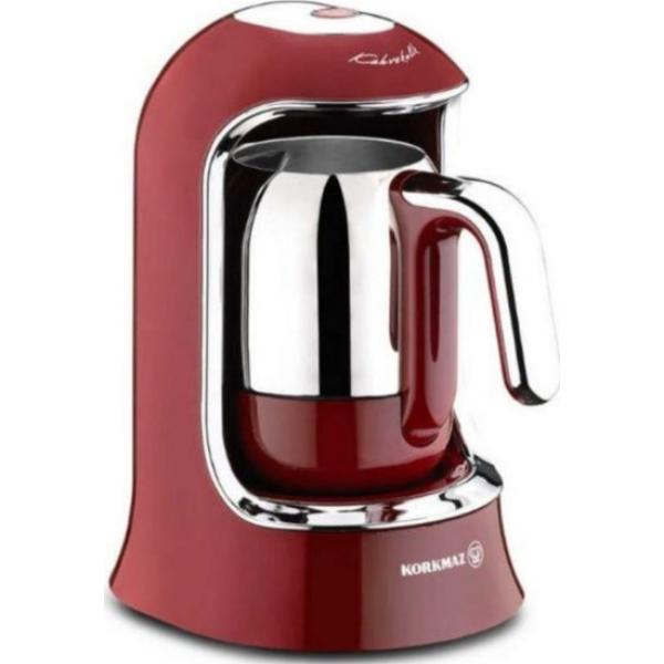 Korkmaz A860-03 Κόκκινη Μηχανή Ελληνικού Καφέ