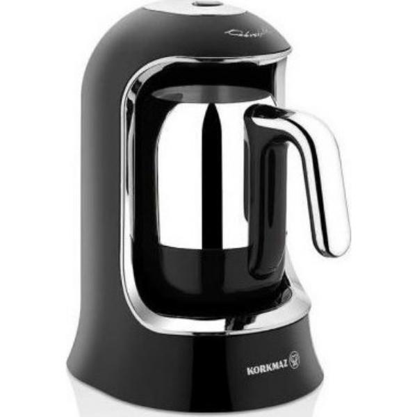 Korkmaz A860-07 Μαύρη Μηχανή Ελληνικού Καφέ