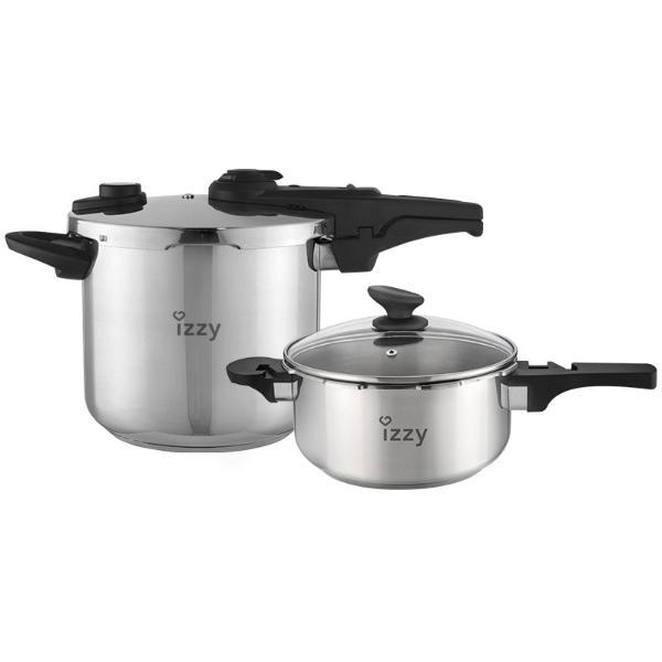 Izzy Multi Chef 7LT +4LT 4 σε 1 Χύτρα Ταχύτητος