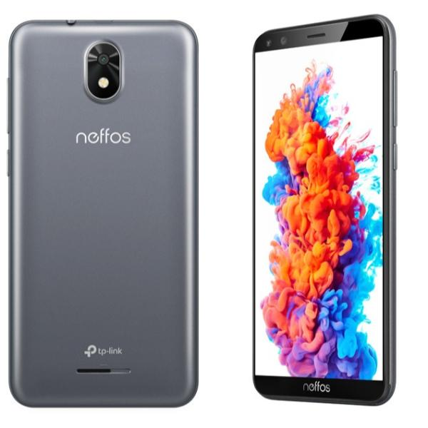 Tp-Link Neffos C5 Plus Grey Κινητό Smartphone