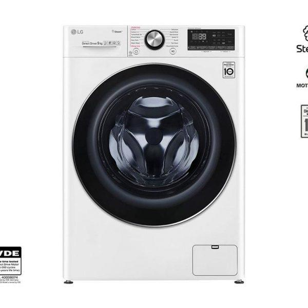 LG F4WV909P2 9Kg με Ατμό Πλυντήριο Ρούχων