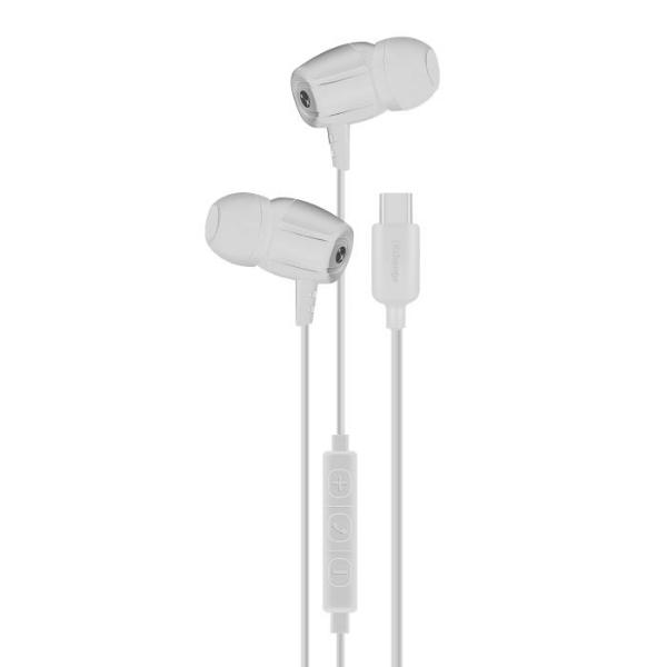 Ixchange SE12 Type-C White Ακουστικά Ψείρες