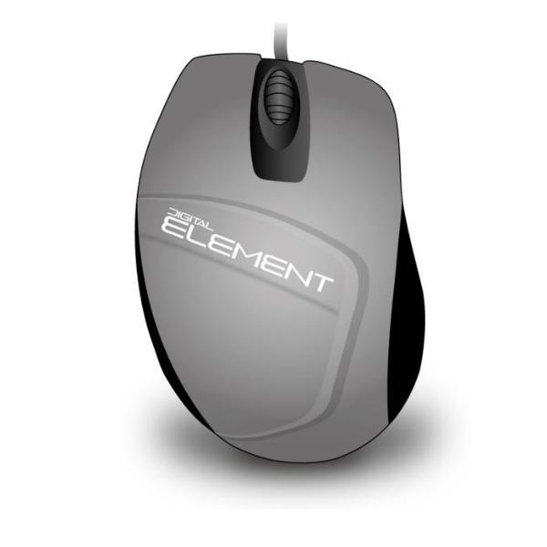 Element MS-30S Silver Ενσύρματο Ποντίκι