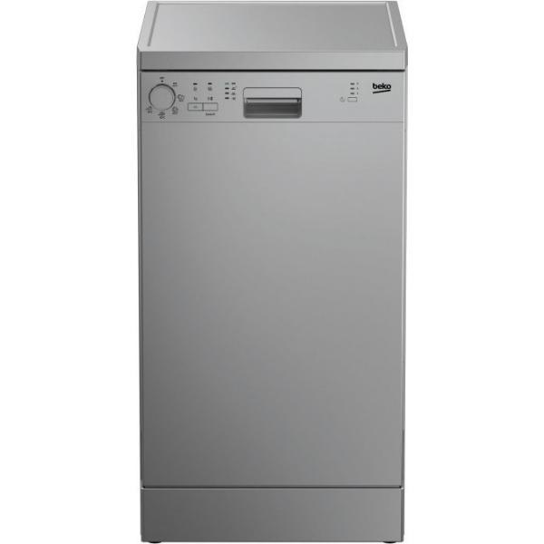 Beko DFS 05013 X Inox Πλυντήριο Πιάτων 45cm