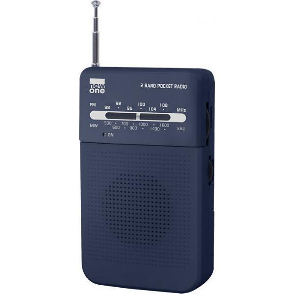 Newone R206 Μαύρο Ραδιόφωνο