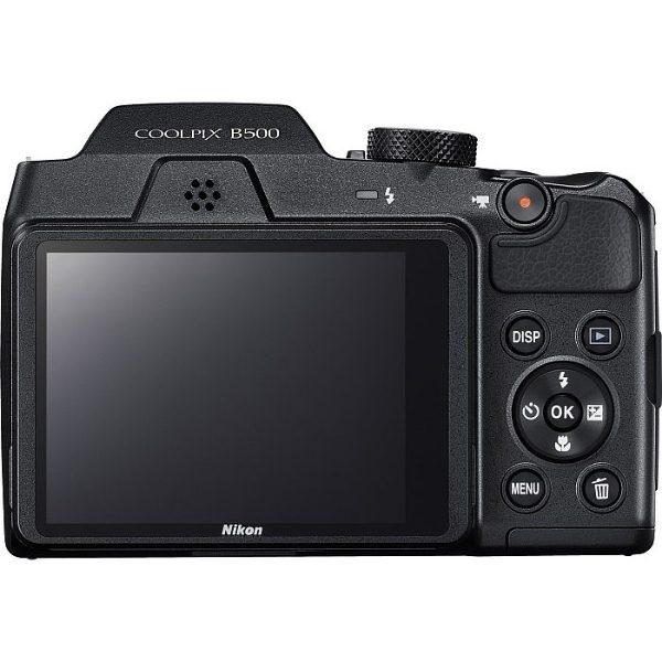 Nikon Coolpix B500 Black & Δώρο Varta Pocket Charger Φωτογραφική Μηχανή Compact