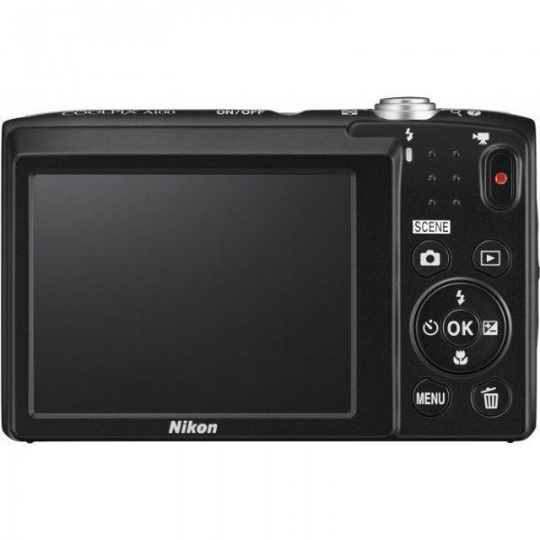 Nikon Coolpix A100 Black Φωτογραφική Μηχανή Compact