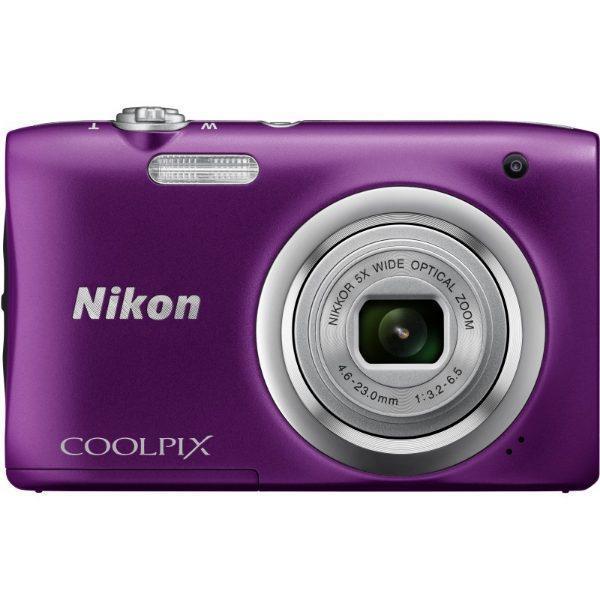 Nikon Coolpix A100 Purple Φωτογραφική Μηχανή Compact