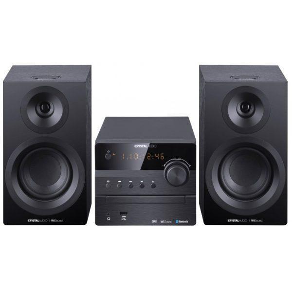 Crystal Audio 3D-HIFI360B Μαύρο Mini HI-FI