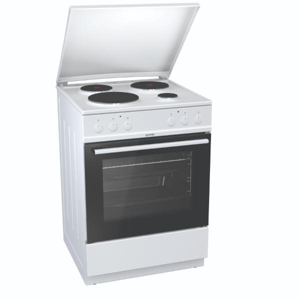 Gorenje E6151WPM Λευκή Κουζίνα Εμαγιέ