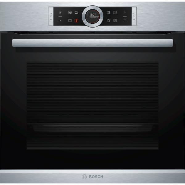 Bosch HBG675BS1 Inox Φούρνος Εντοιχιζόμενος