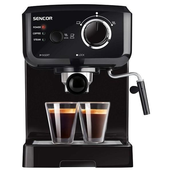Sencor SES 1710BK Black Μηχανή Espresso