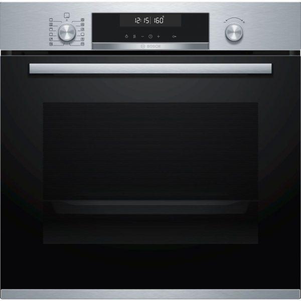 Bosch HBS 578BS0 Πυρολυτικός Φούρνος Εντοιχιζόμενος
