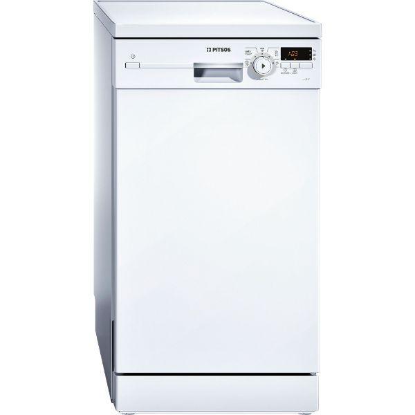 Pitsos DRS5512 Λευκό Πλυντήριο Πιάτων 45cm
